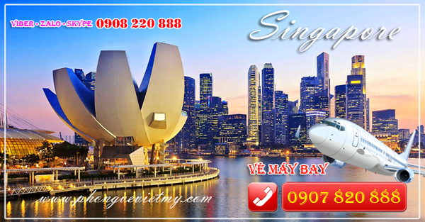 du lịch singapore, đảo quốc sư tử, vé máy bay đi singapore
