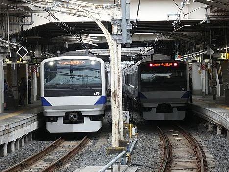 上野東京ライン 東海道線直通 E531系