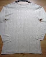 blusa em tricot tam GG