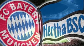 Бавария – Герта прямая трансляция онлайн 23/02 в 17:30 по МСК.