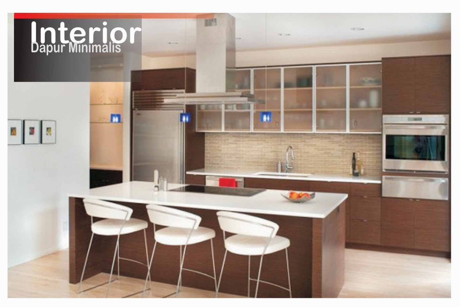 Model dapur minimalis for Kitchen set minimalist design