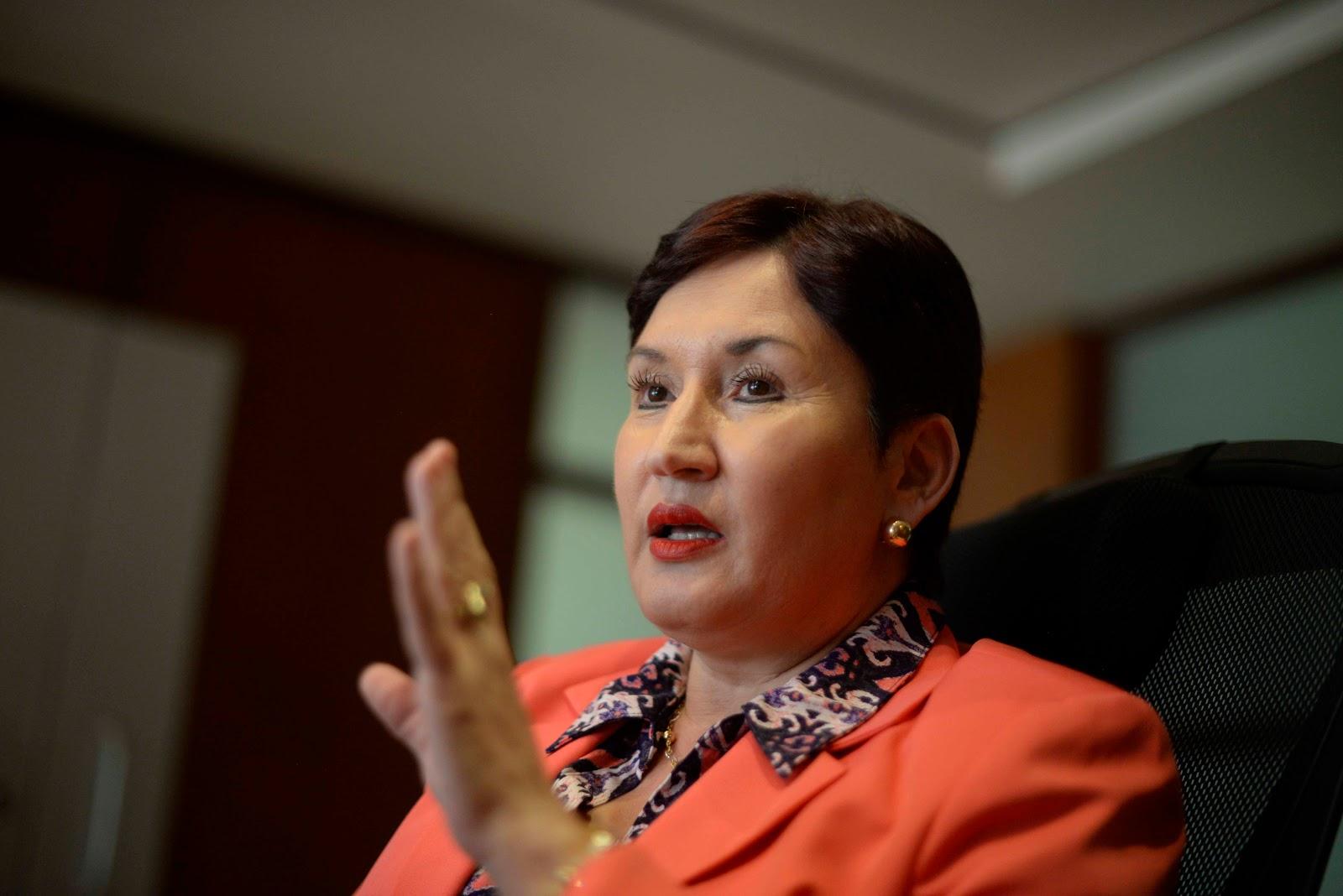 Thelma Aldana, Fiscal de Guatemala. FOTO: Telesur