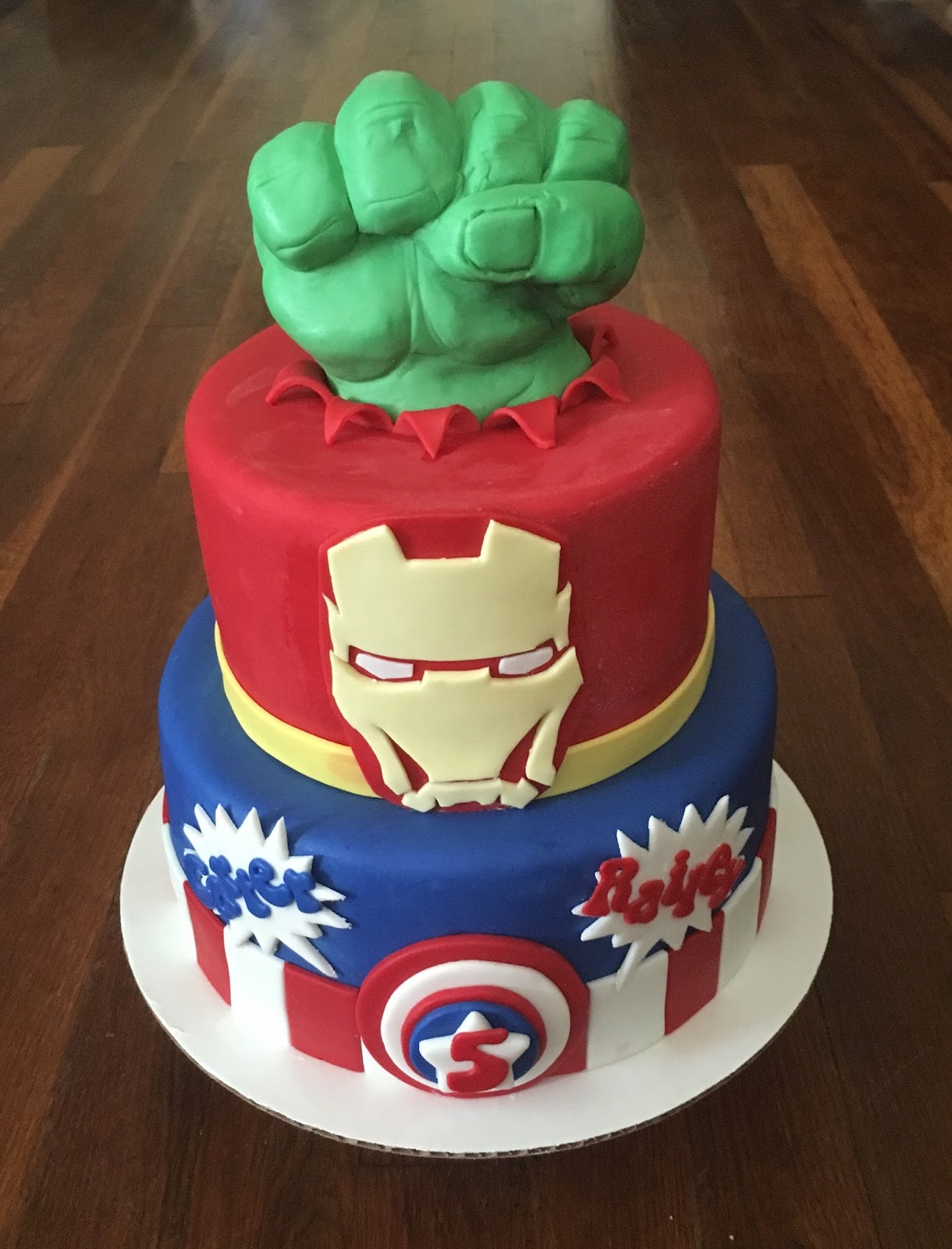 Cakes By Becky Avengers Birthday Cake