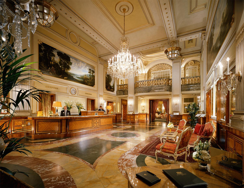 Passion for luxury hotel imperial vienna magnificent for Modern luxury hotels uk
