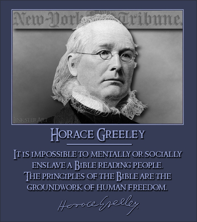 Horace Greeley Quotes. QuotesGram