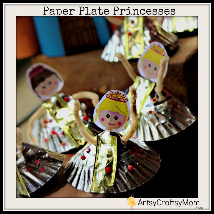 Paper Plate Princess Craft