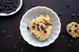Vegan Cookie Dough for One #vegan #recipevegetarian