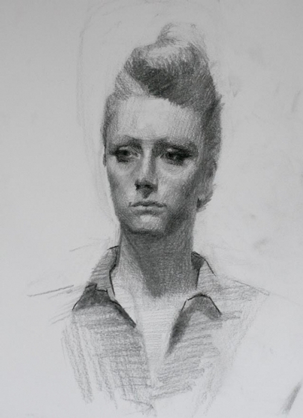 13-Lady-Louis-Smith-Charcoal-Portrait-Study-Drawings-www-designstack-co