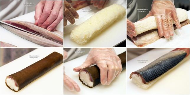 The Making of Saba-Sugatazushi - Whole Mackerel Lightly Matured Sushi