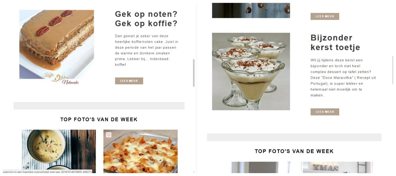 nieuwsbrieven van de grote inspiratie site van Nederland, Welke.
