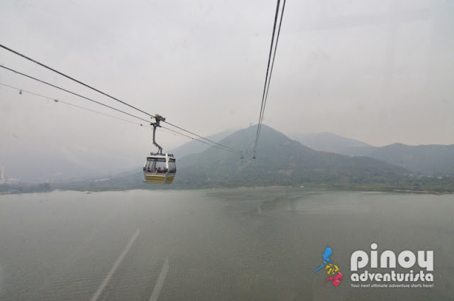 NGONG PING 360 CABLE CAR RIDE HONG KONG