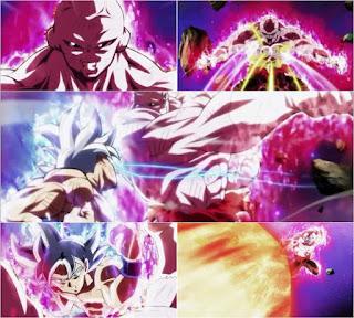 UI Goku vs FP Jiren