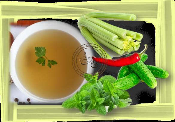 Из каких овощей готовить суп из сельдерея....