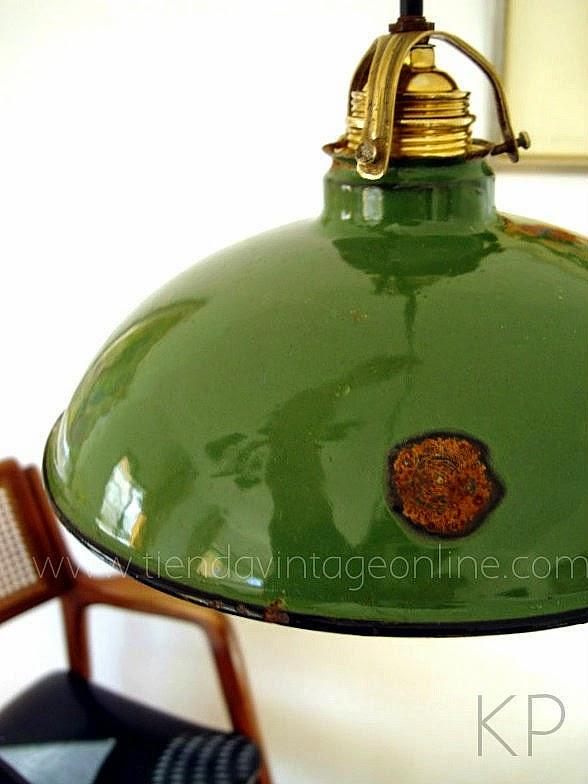 Comprar lámpara de techo vintage industrial