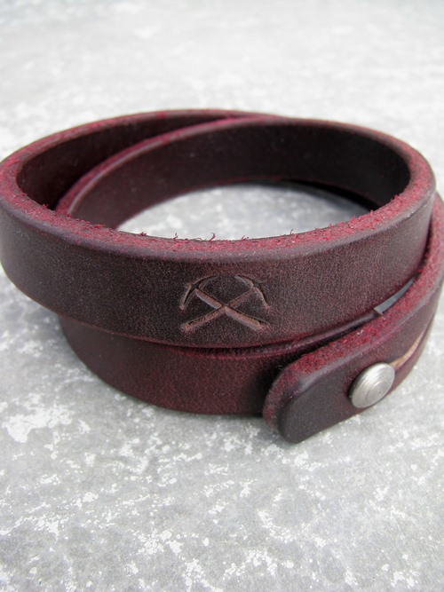 Made By Tanner Goods Portland Or One Size 55 For More Information On The 3six Double Wrap Leather Bracelet