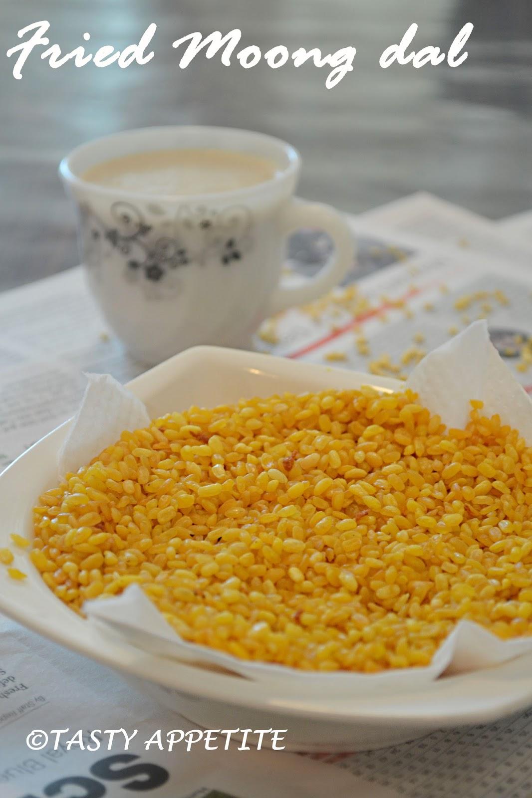 Fried Moong Dal Haldiram Style Namkeen Fried Crispy Moong Dal Recipe Easy Snacks Recipes