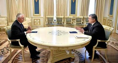 Киев посетили госсекретарь США и Генеральный секретарь ООН