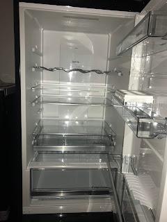 black gorenje fridge freezer  for healthy living
