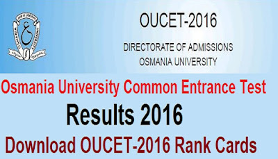 OUCET 2016 Results