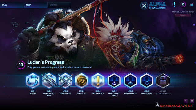 Heroes Of the Storm Alpha Gameplay Screenshot 1