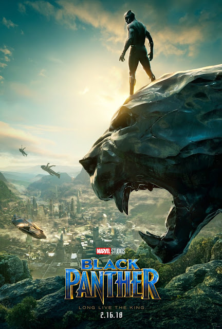 San Diego Comic-Con 2017 Exclusive Black Panther Teaser Theatrical One Sheet Movie Poster