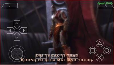 PSP -God of War: Ghost of Sparta Việt Hóa