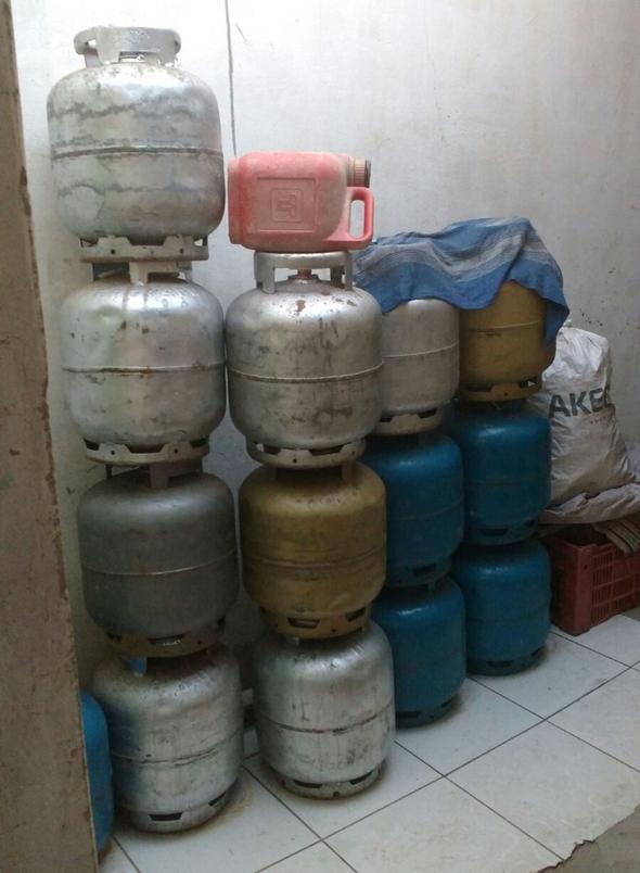 Brumado: Polícia estoura depósito de gás que funcionava irregularmente