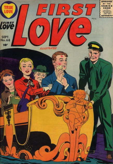 Kirby Romance Harvey Comics