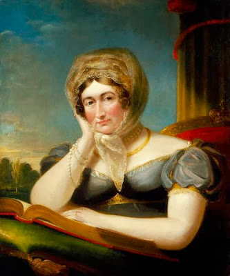 Portrait of Caroline of Brunswick by James Lonsdale, 1821