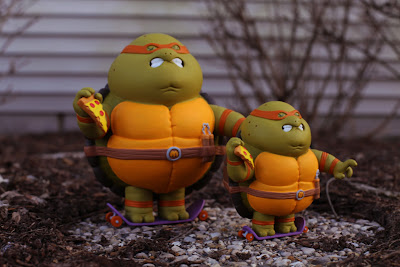 Teenage Mutant Ninja Turtles Chunky Mikey Resin Figures by Alex Solis