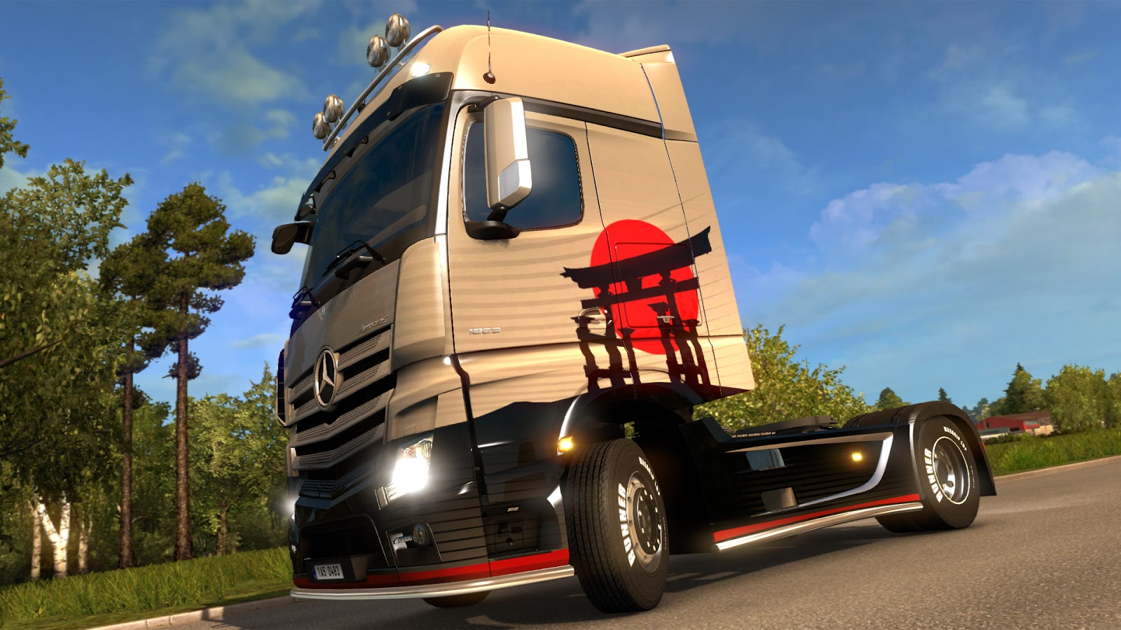 Scs Software's Blog Japanese Paint Jobs Pack Released