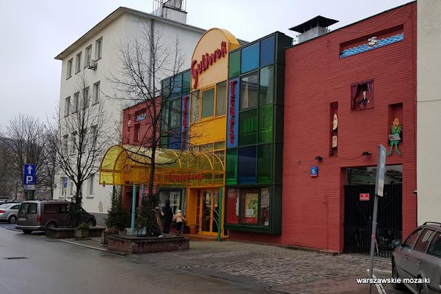 Warszawa Warsaw Mokotów Mokotow ulice Mokotowa architektura teatr Guliwer kamienica