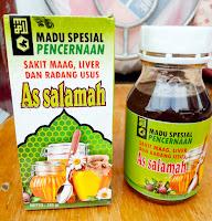 Jual Madu Assalamah Pencernaan/ Maag/ Liver/ Radang Usus/ dan Typhus/ Tipes di Surabaya