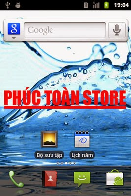 Tiếng Việt Acer E310 v2.3.5 alt