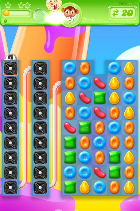 Candy Crush Jelly Saga 194