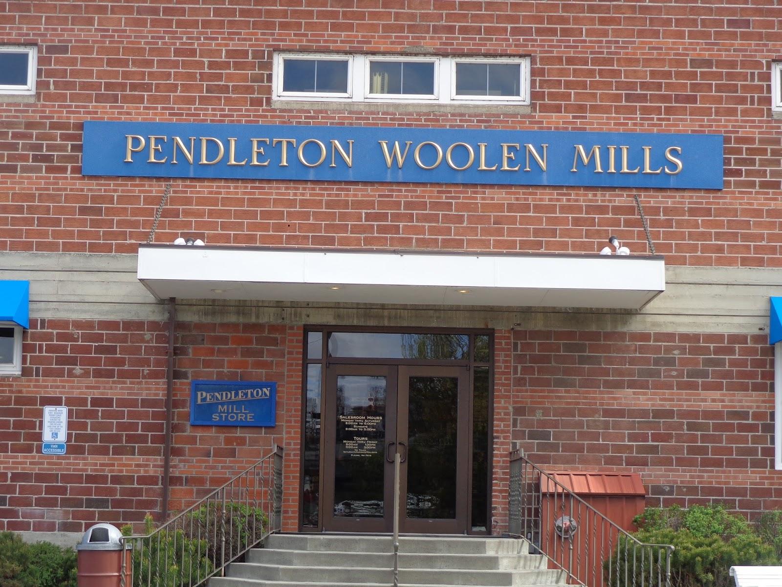 timeless reflections: Pendleton Woolen Mills on