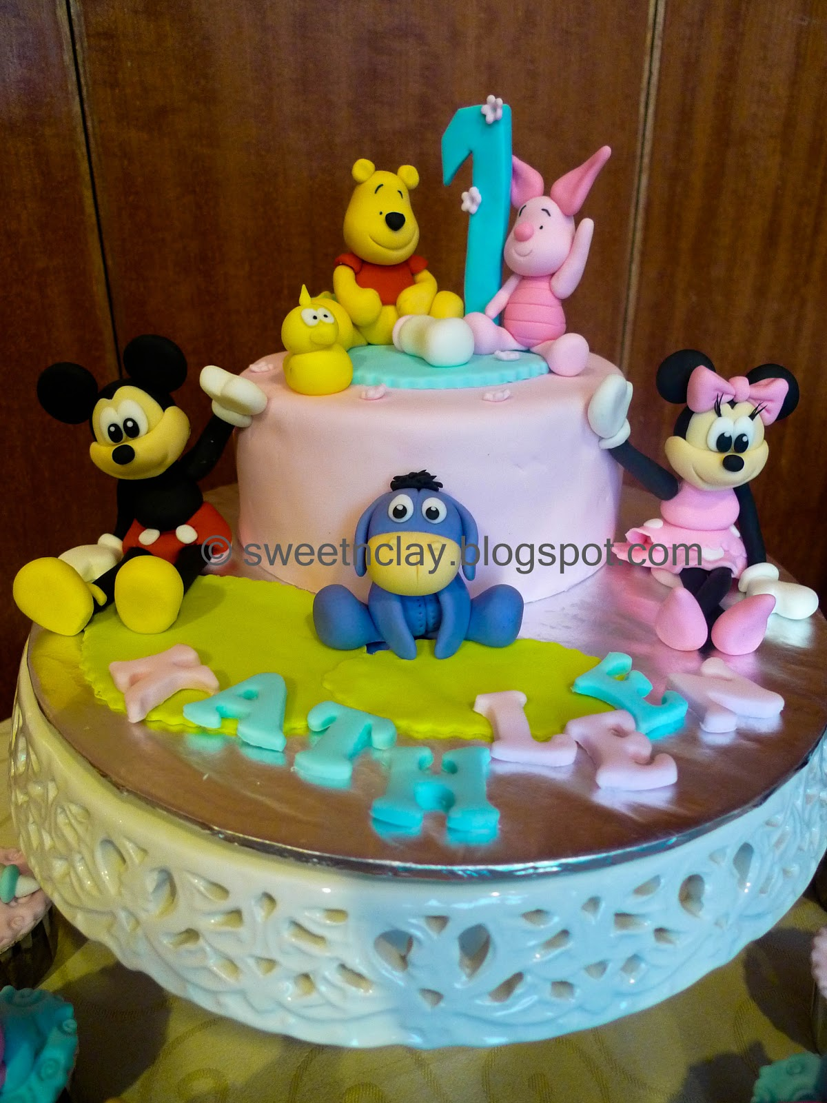 Sweet Amp Clay Kathleen First Birthday With Disney Friends