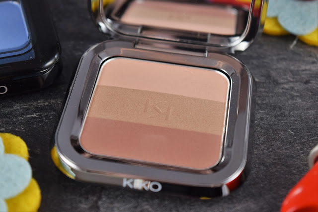 Kiko Shade Fusion Trio Blush in Sand