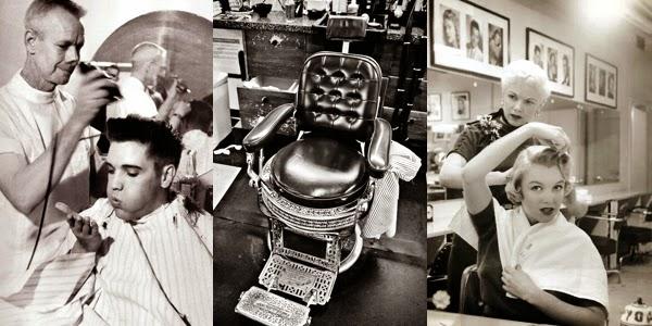 Vintage Salon Images The Haircut Web