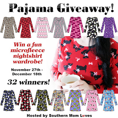 Enter the Women's Microfleece Nightshirt Wardrobe Giveaway. Ends 12/18