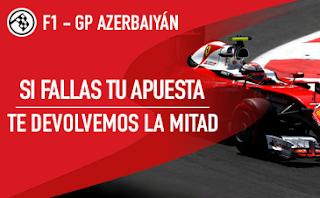 sportium Promo GP de Azerbaiyán F1 29 abril