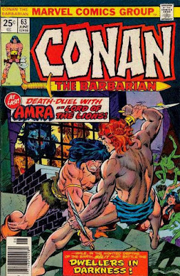 Conan the Barbarian #63, Amra