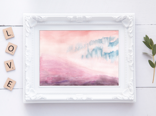 Abstract Ethereal Landscape