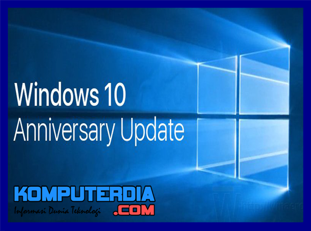 Cara upgrdae versi windows ke windows 10 aniversary dengan windows 10 upgrade assistant