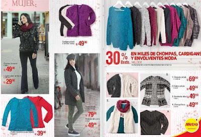 catalogo de ropa metro invierno 2016