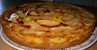 وصفة فطيرة التفاح القديمة بدون سكر ... لذيذة !!