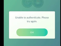 Cara Jitu Mengatasi Error Unable To Authenticate Please Try Again Pokemon Go