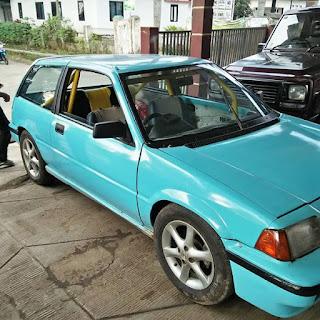 LAPAK MOBIL BEKAS : Dijual Honda Civic SB3  2 Pintu Tahun 83