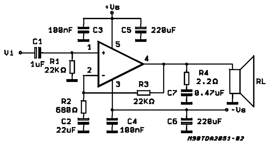 40W Hi-Fi AUDIO POWER AMPLIFIER ~ AmplifierCircuits.com