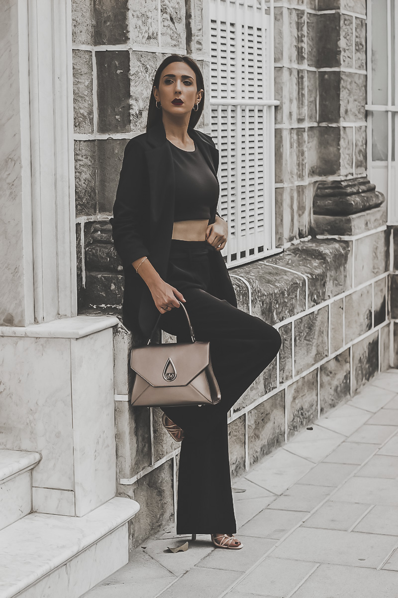 look negro elegante